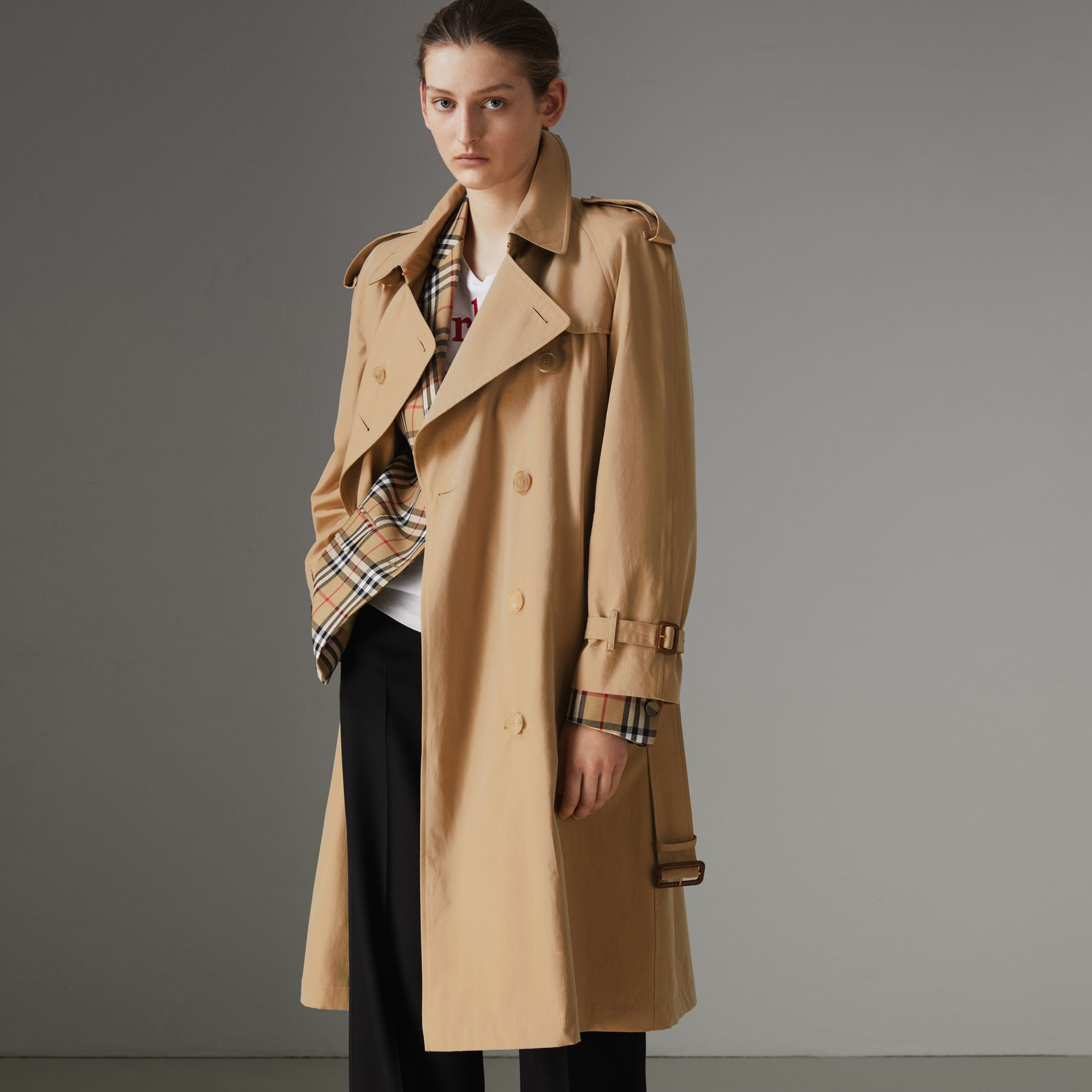 The Westminster – Trench Heritage (Miel) - Femme | Burberry Canada - photo de la galerie 0