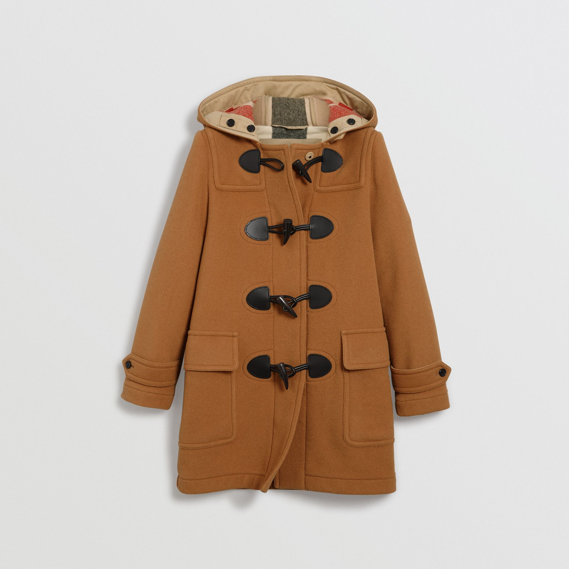 The Mersey Duffle Coat in Mid Camel - Women | Burberry Singapore - gallery image 3