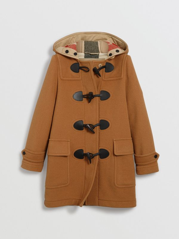 The Mersey Duffle Coat in Mid Camel - Women | Burberry - cell image 3