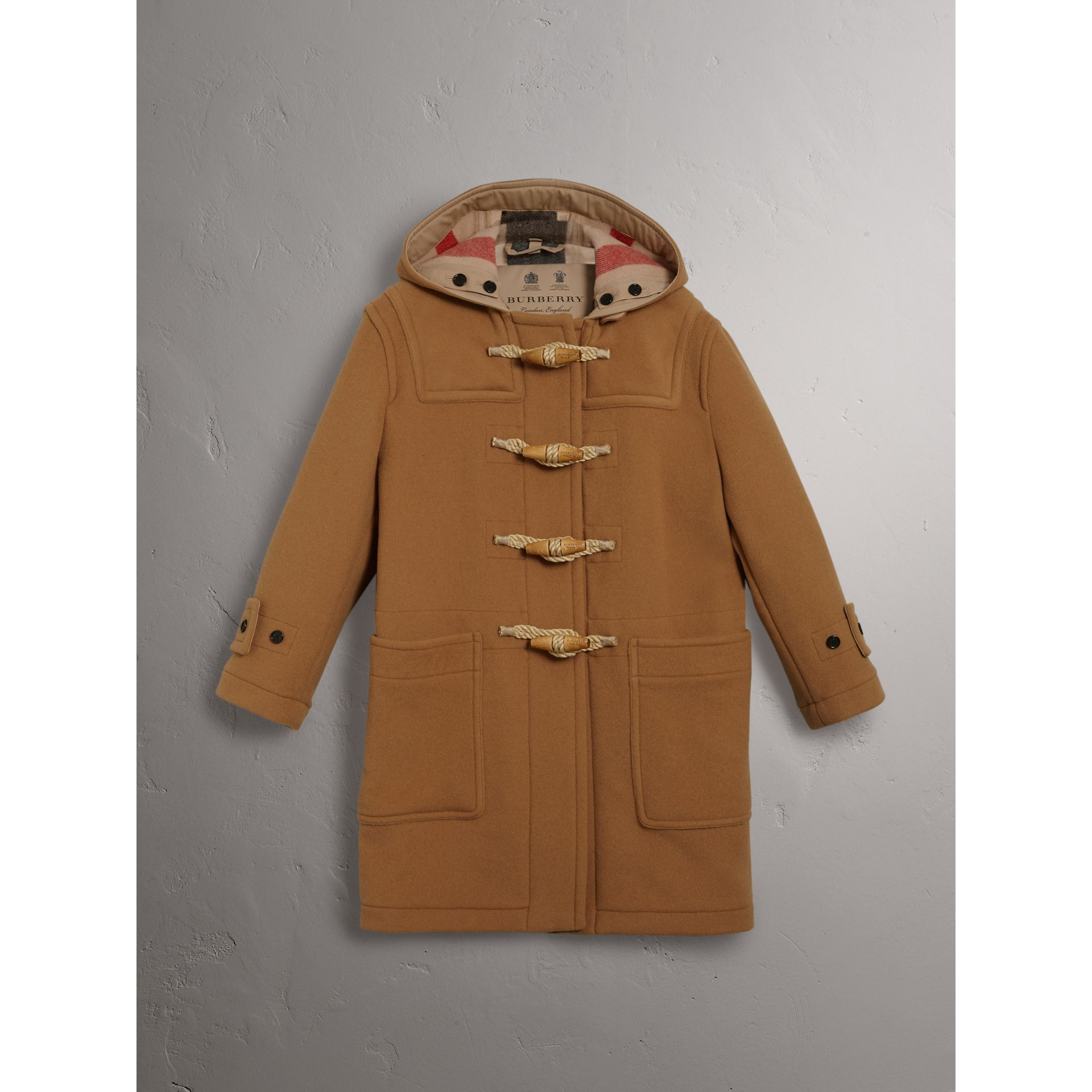 The Greenwich Duffle Coat in Mid Camel - Women | Burberry United States - gallery image 3