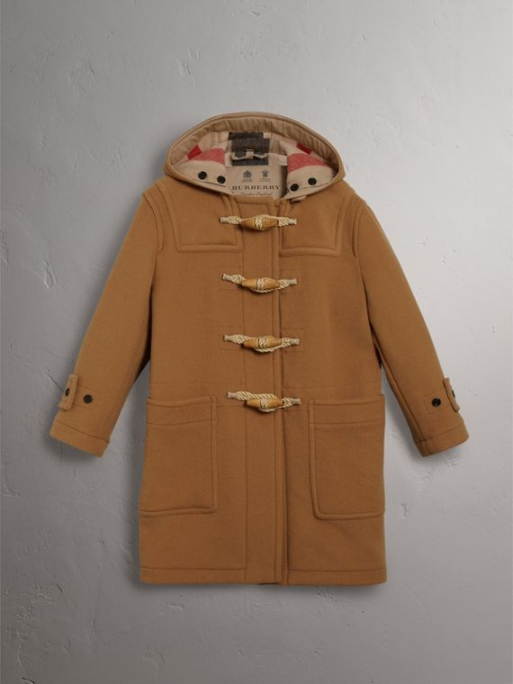 The Greenwich Dufflecoat (Mittleres Camelfarben) - Damen | Burberry - cell image 3