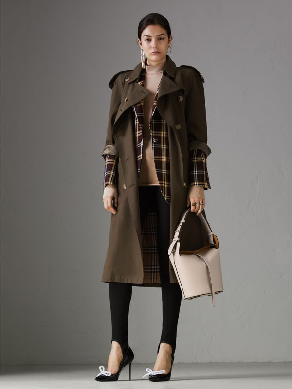 Petit sac The Bucket en cuir (Calcaire) - Femme | Burberry Canada - cell image 2