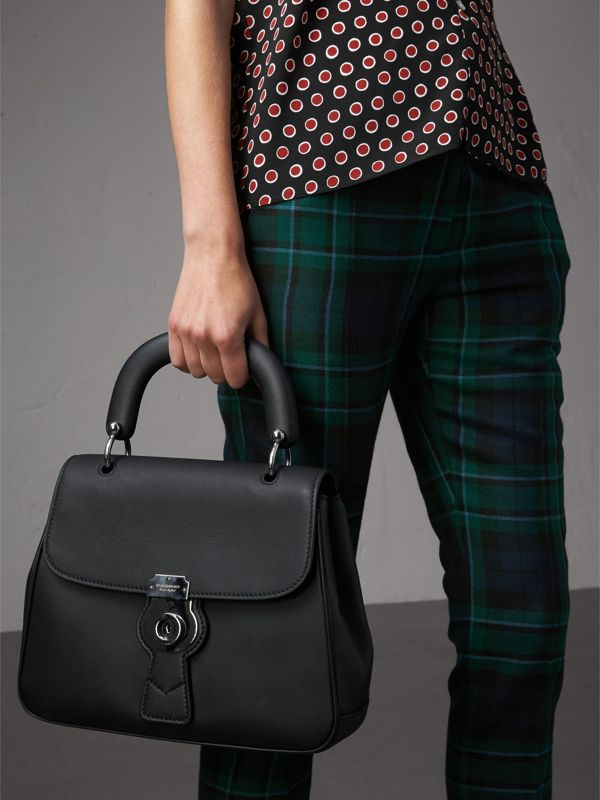 The Medium DK88 Top Handle Bag in Black - Women | Burberry - cell image 3