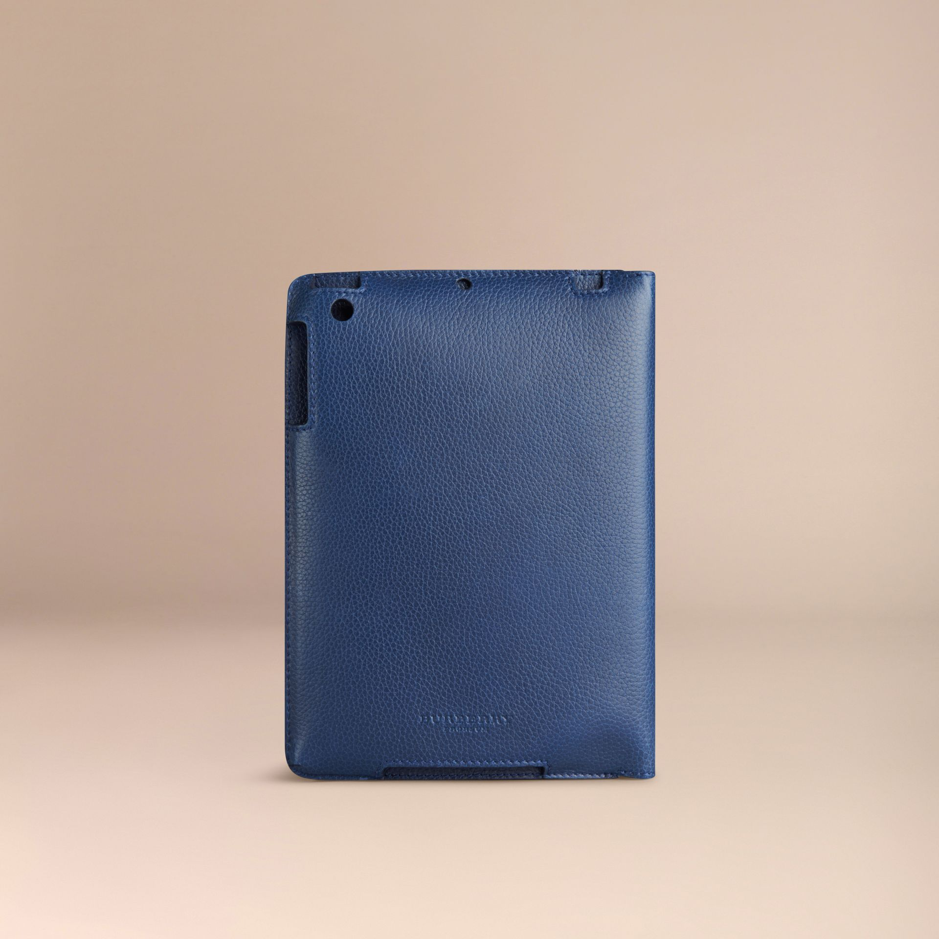 Bright navy Grainy Leather iPad Mini Case Bright Navy - gallery image 2