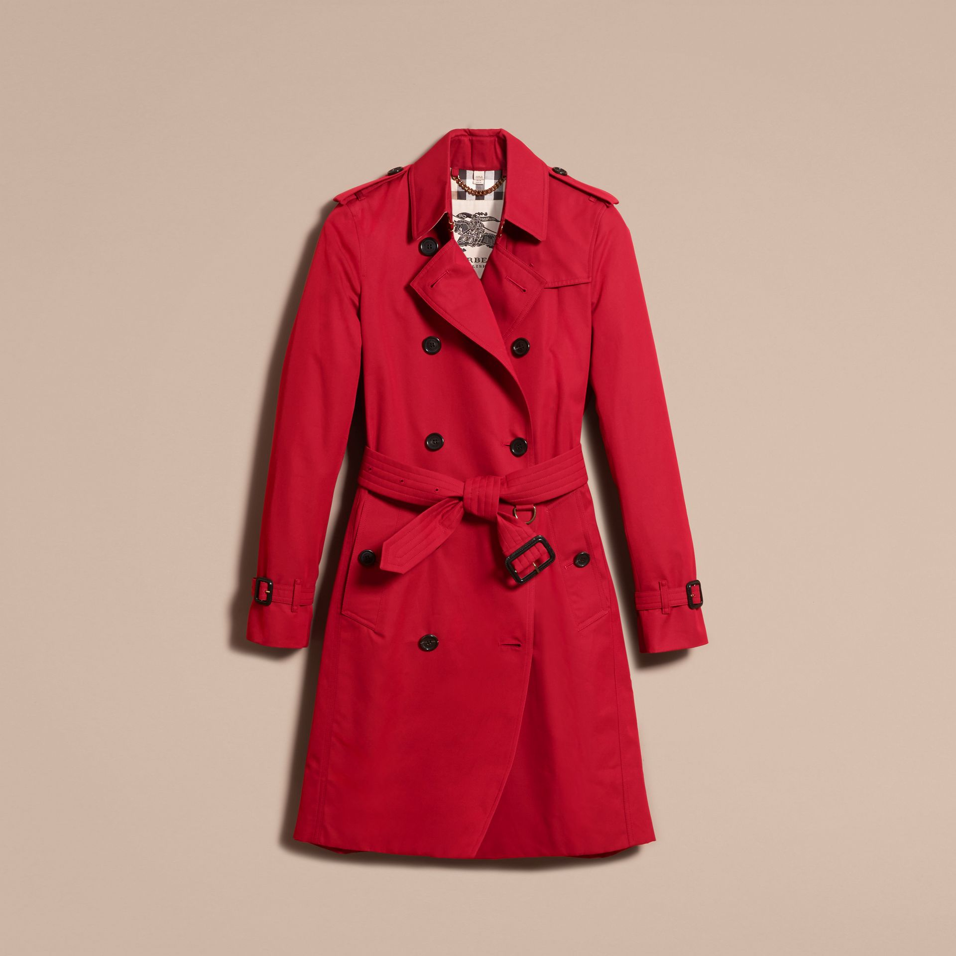 Parade red The Kensington - Trench coat Heritage longo Parade Red - galeria de imagens 4