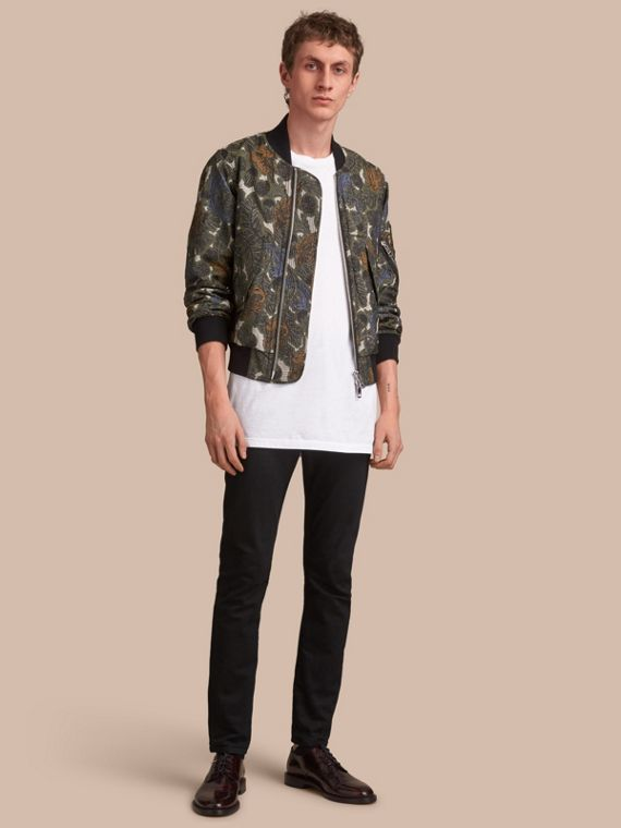 Beasts Print Lightweight Bomber Jacket - Men | Burberry Singapore