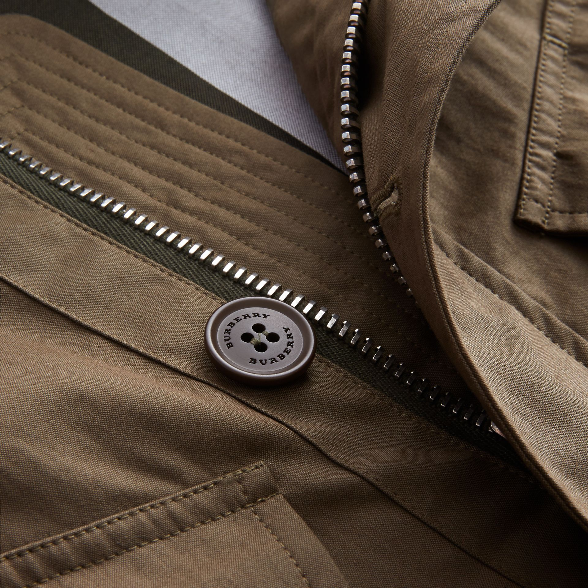 Technical Cotton Canvas Field Jacket - gallery image 2