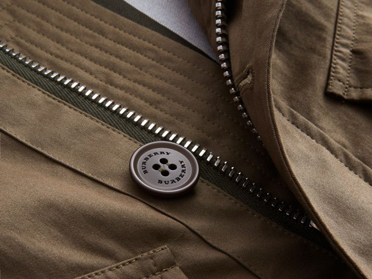 Technical Cotton Canvas Field Jacket - cell image 1