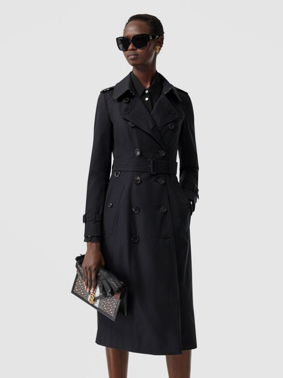 Trench coat Heritage The Chelsea lungo (Blu Notte)