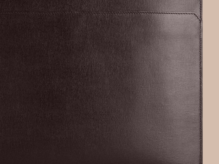 London Leather Document Case in Black - Men | Burberry - cell image 1