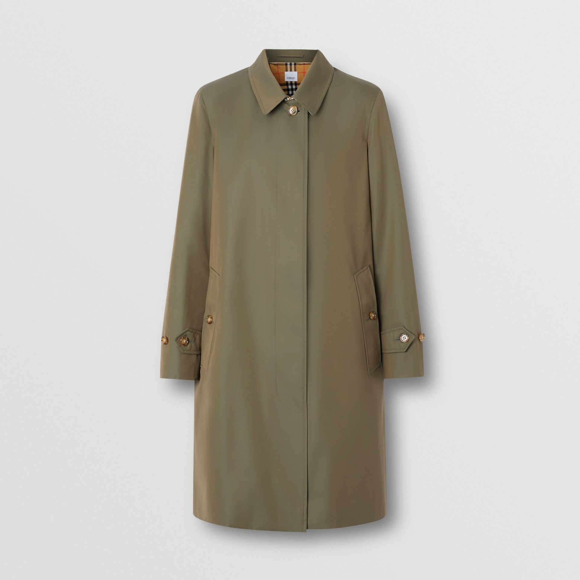 The Pimlico Heritage Car Coat in Oregano - Women | Burberry United Kingdom - gallery image 3