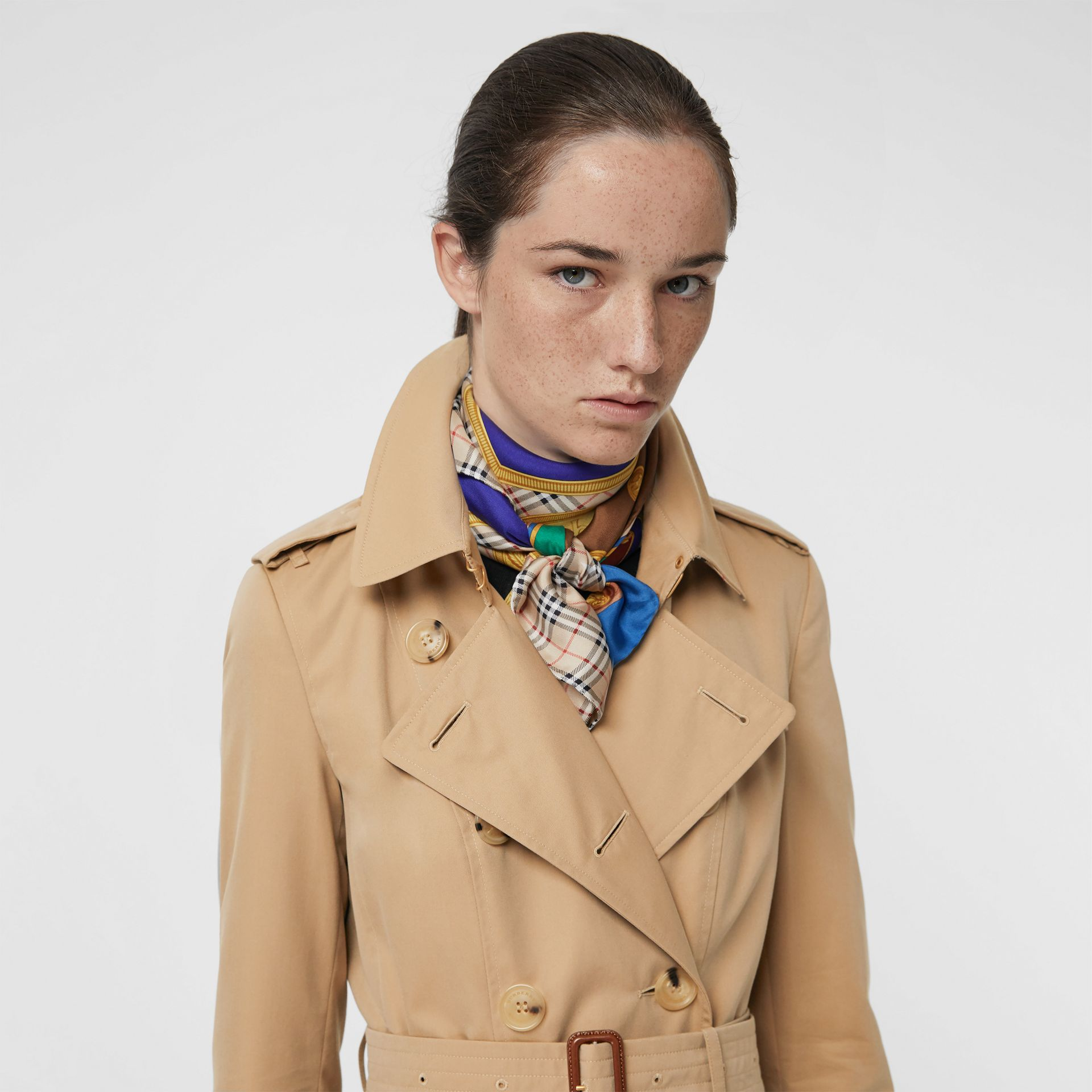 The Chelsea – Trench Heritage long (Miel) - Femme | Burberry - photo de la galerie 1