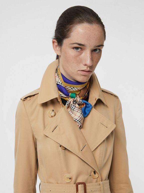 The Chelsea – Trench Heritage long (Miel) - Femme | Burberry - cell image 1