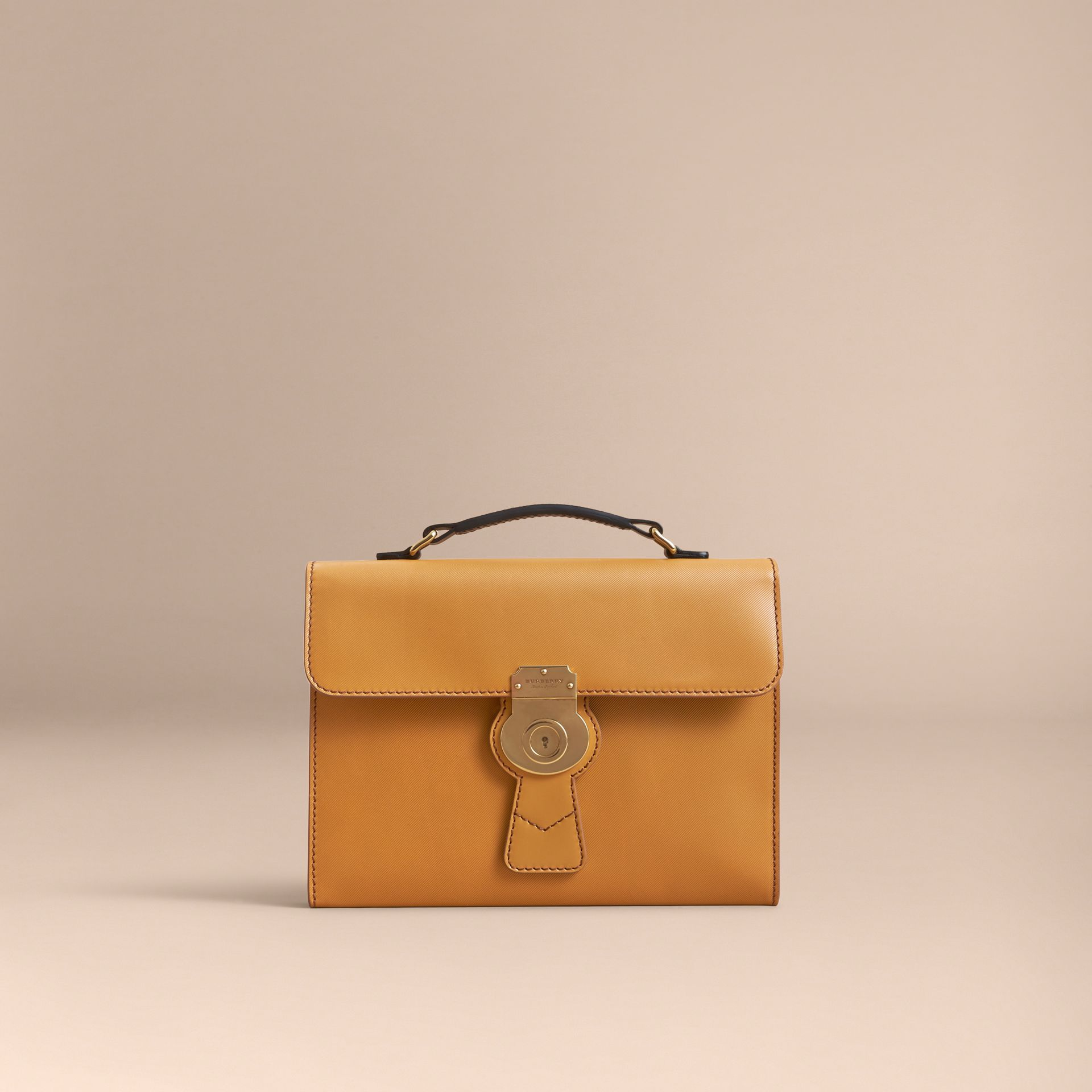 The DK88 Document Case in Ochre Yellow - Men | Burberry Australia - gallery image 6