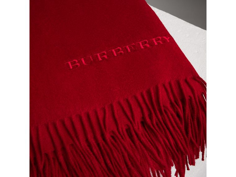 Couverture en cachemire (Rouge Parade) | Burberry - cell image 1