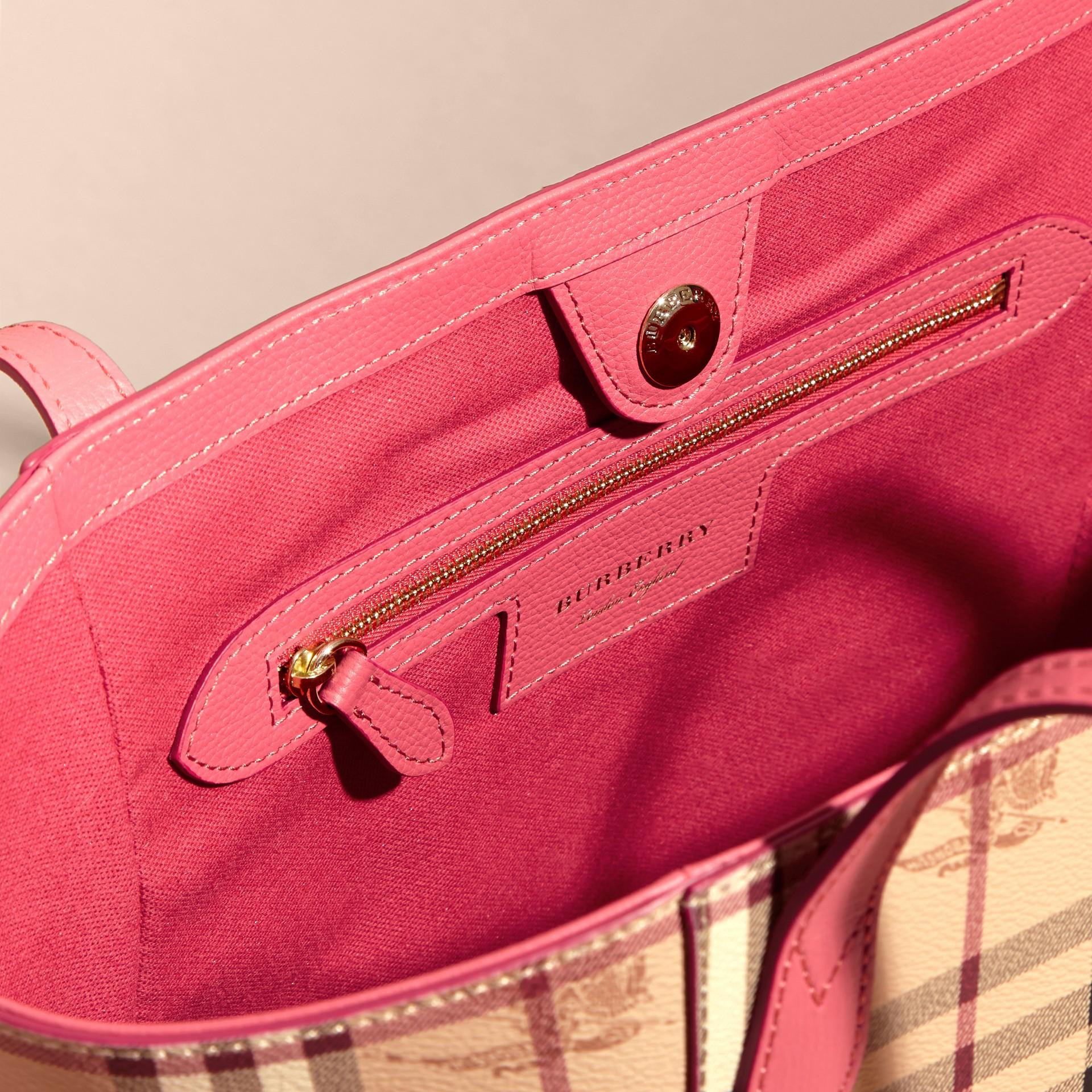 Розовая слива Сумка Canter в клетку Haymarket Check Розовая Слива - изображение 4