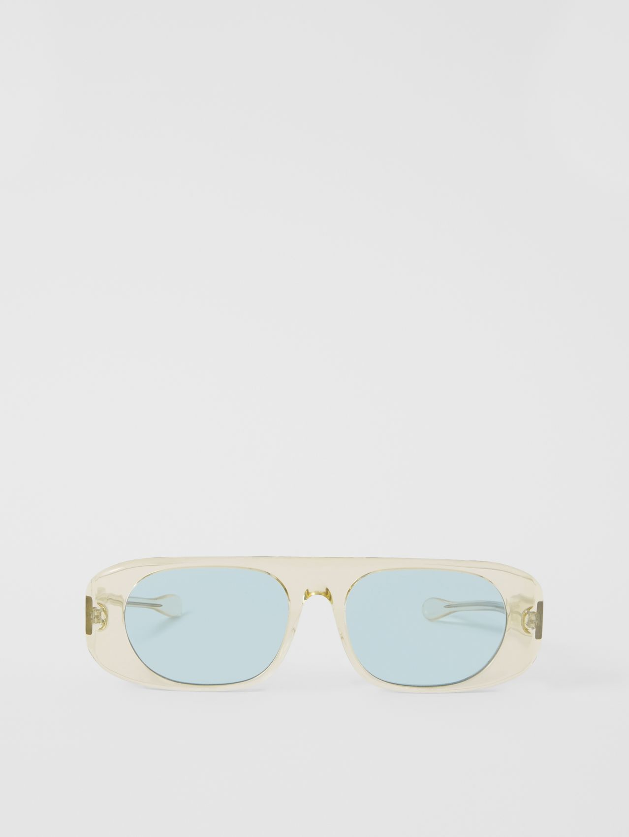 Blake Sunglasses in Transparent Champagne