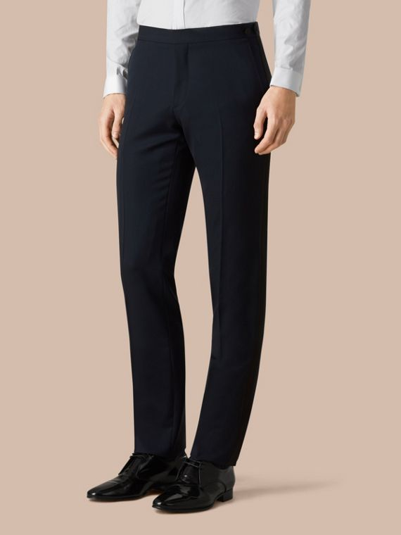 Modern Fit Virgin Wool Half-canvas Tuxedo - cell image 3