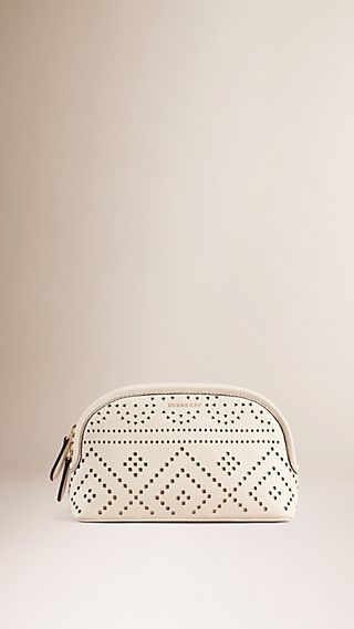 The Beauty Bloomsbury in Laser-cut Lace Leather