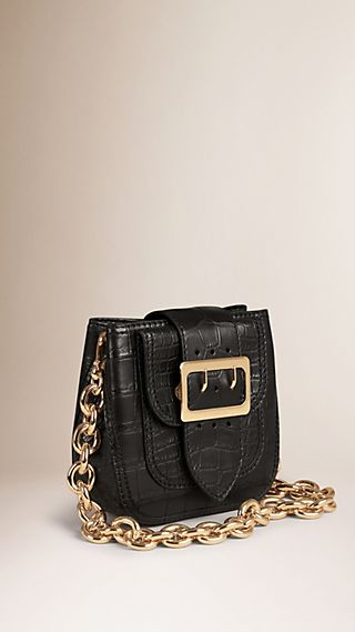 The Belt Bag - Square in Alligator