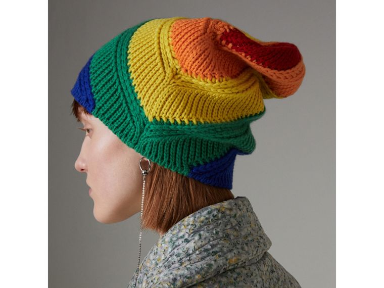 Rainbow Cashmere Beanie | Burberry - cell image 4
