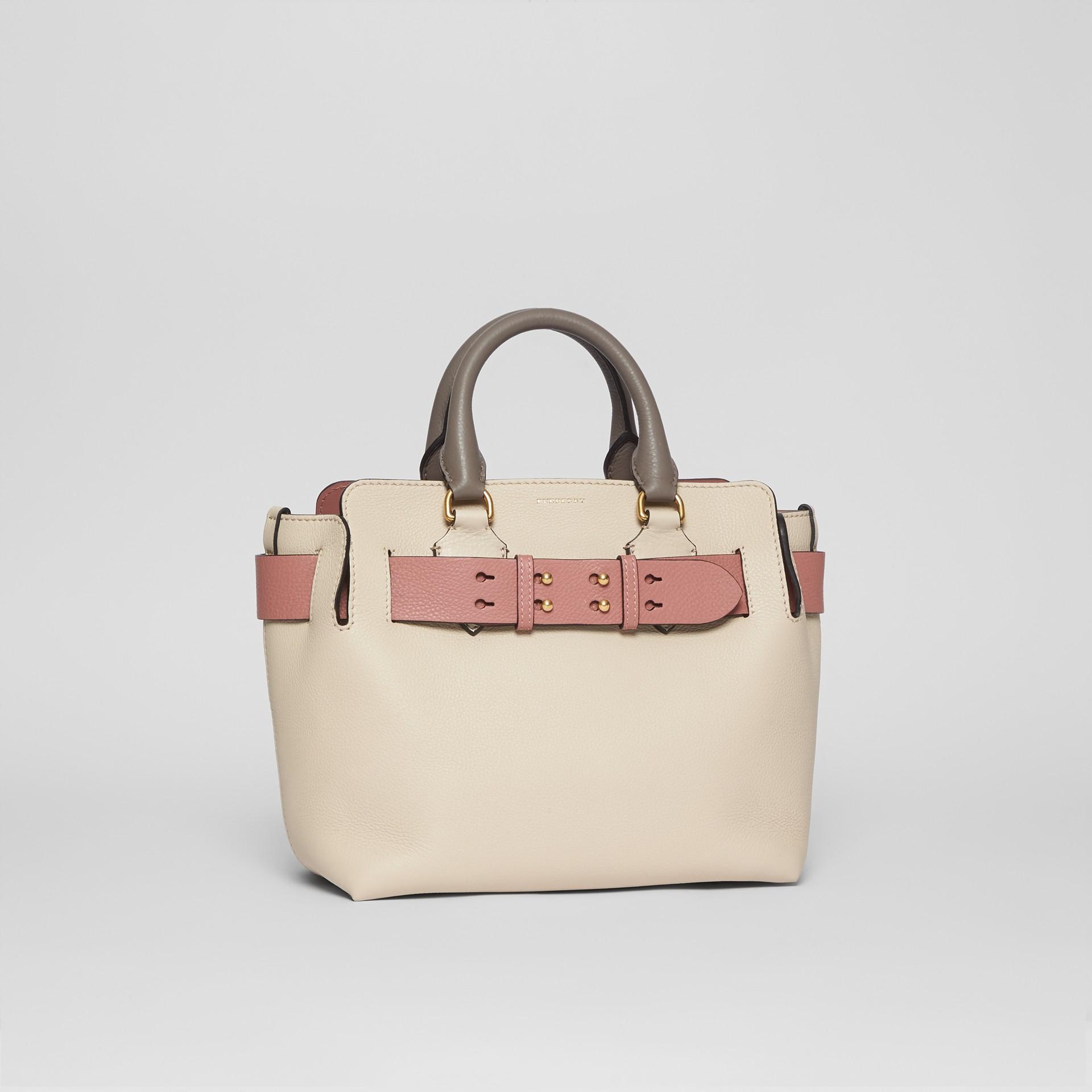 Petit sac TheBelt en cuir tricolore (Calcaire/rose Cendré) - Femme | Burberry - photo de la galerie 6