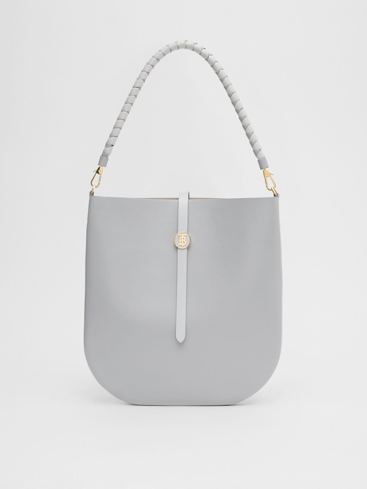 Leather Anne Bag in Cloud Grey