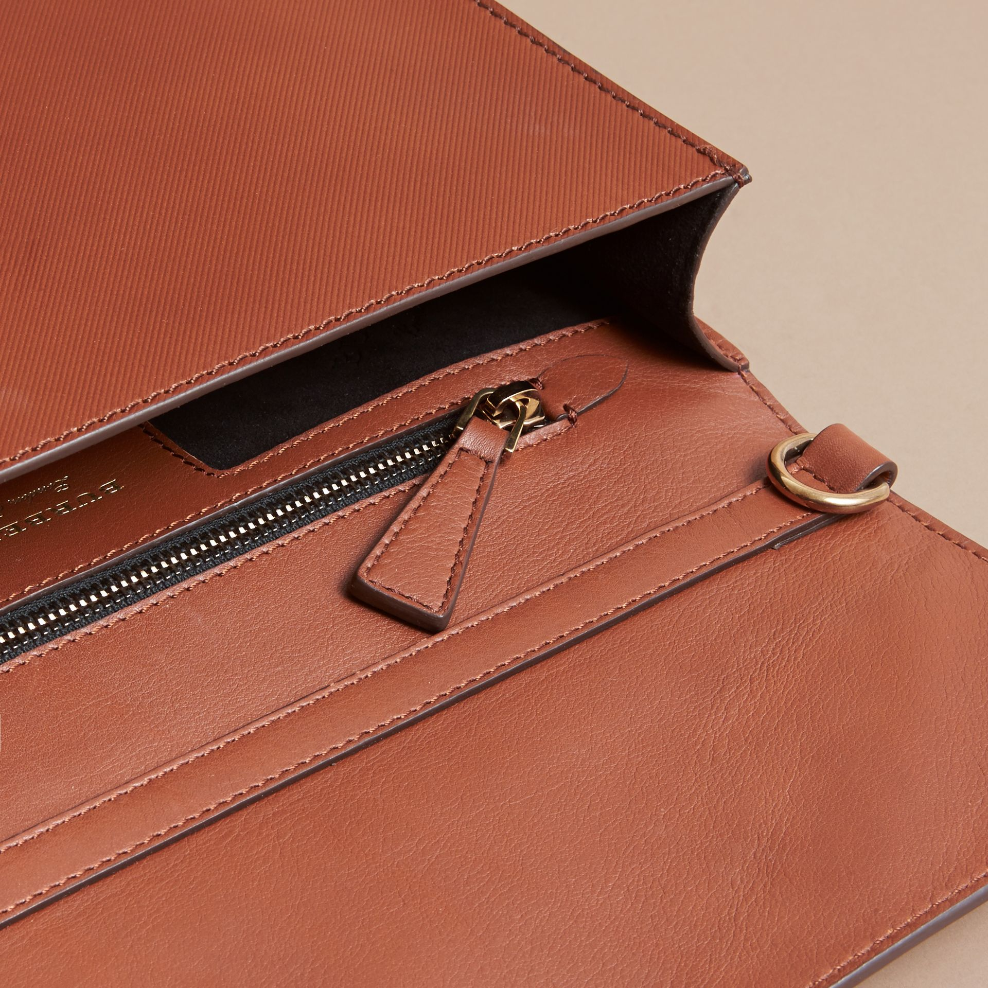 The DK88 Document Case in Tan - Men | Burberry - gallery image 4
