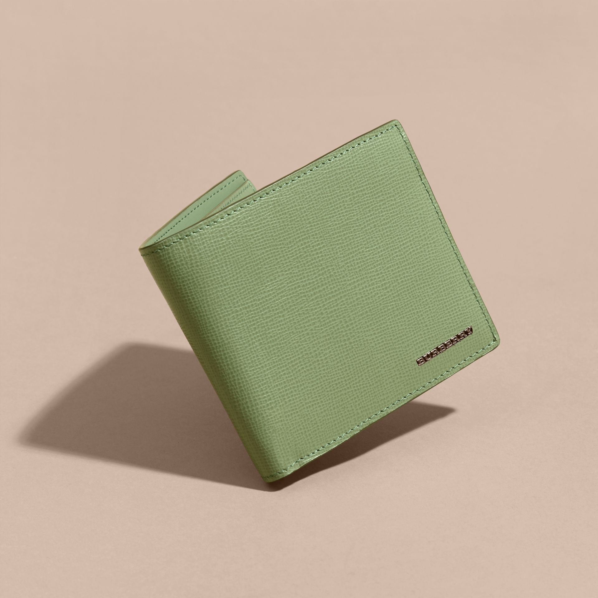 London Leather International Bifold Wallet in Antique Green - gallery image 3