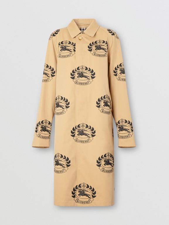 The Pimlico Car Coat in Honey | Burberry Australia - cell image 1