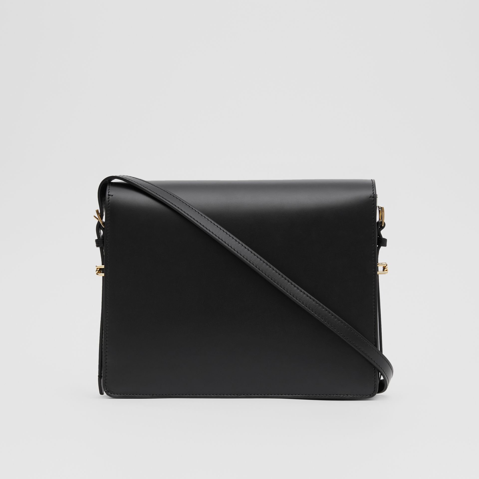 Large Leather Grace Bag in Black - Women | Burberry United Kingdom - gallery image 7