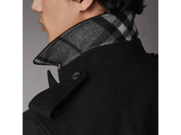 Wool Cashmere Trench Coat - Men | Burberry - cell image 4
