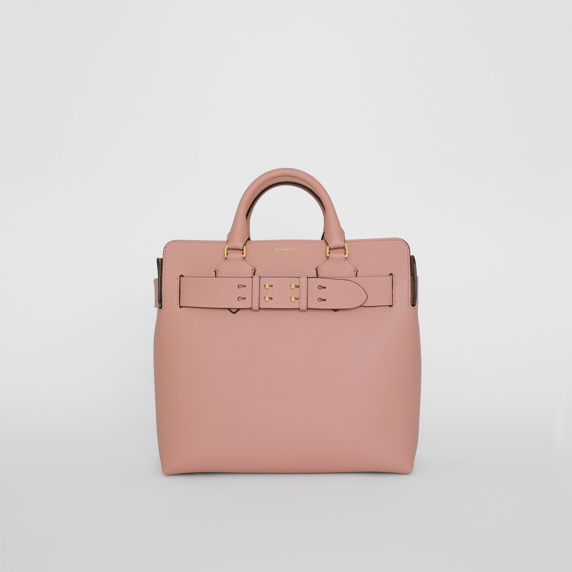 The Medium Leather Belt Bag in Ash Rose - Women | Burberry Singapore - gallery image 0