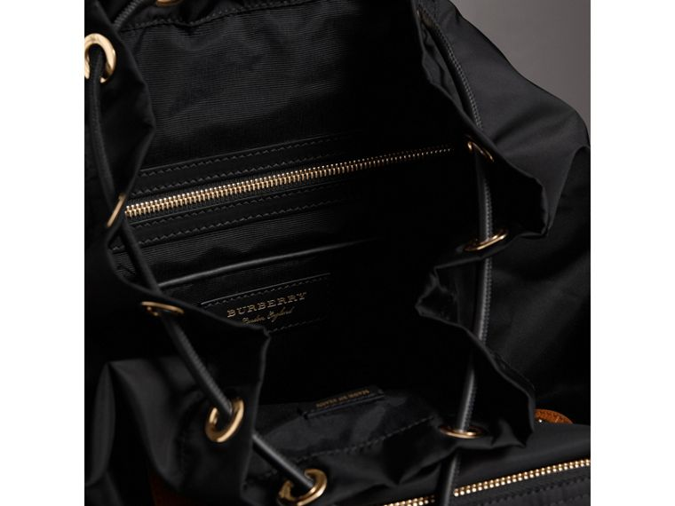 The Large Rucksack in Pallas Heads Appliqué in Black - Women | Burberry - cell image 4