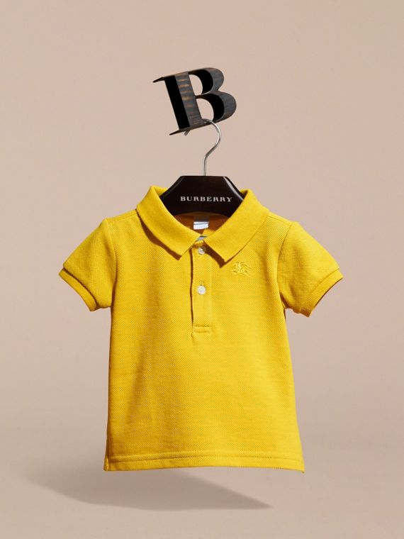 Check Placket Polo Shirt | Burberry - cell image 2