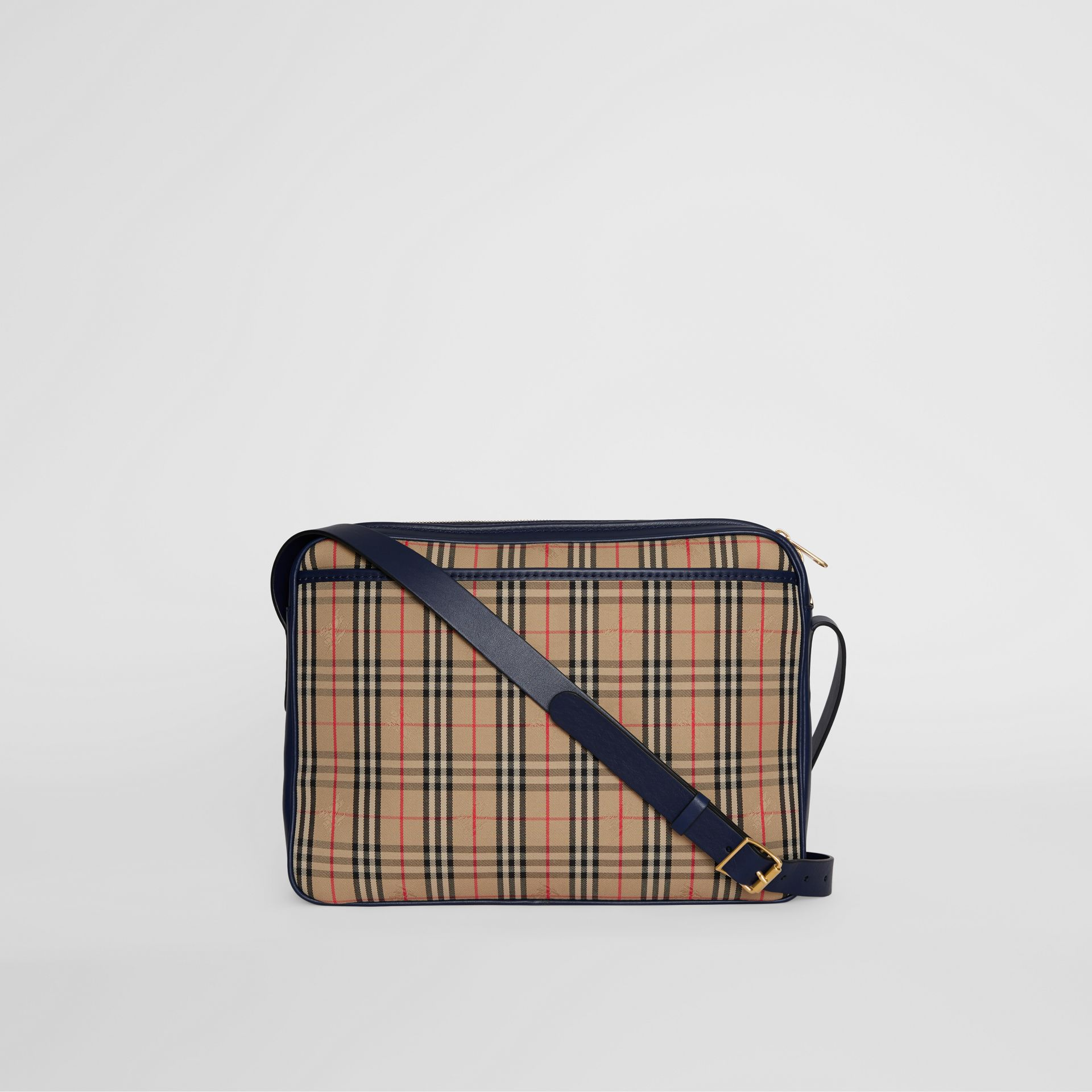 The Large Link Camera Bag im Karodesign (Tintenblau) - Herren | Burberry - Galerie-Bild 7