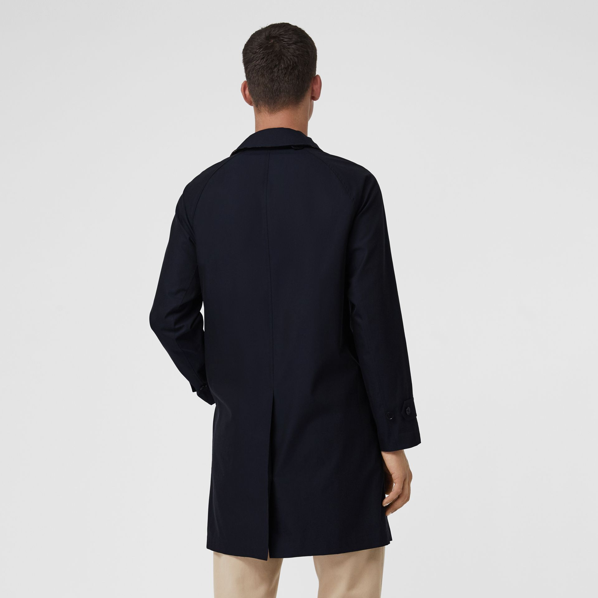 The Camden Car Coat in Blue Carbon - Men | Burberry United Kingdom - gallery image 2
