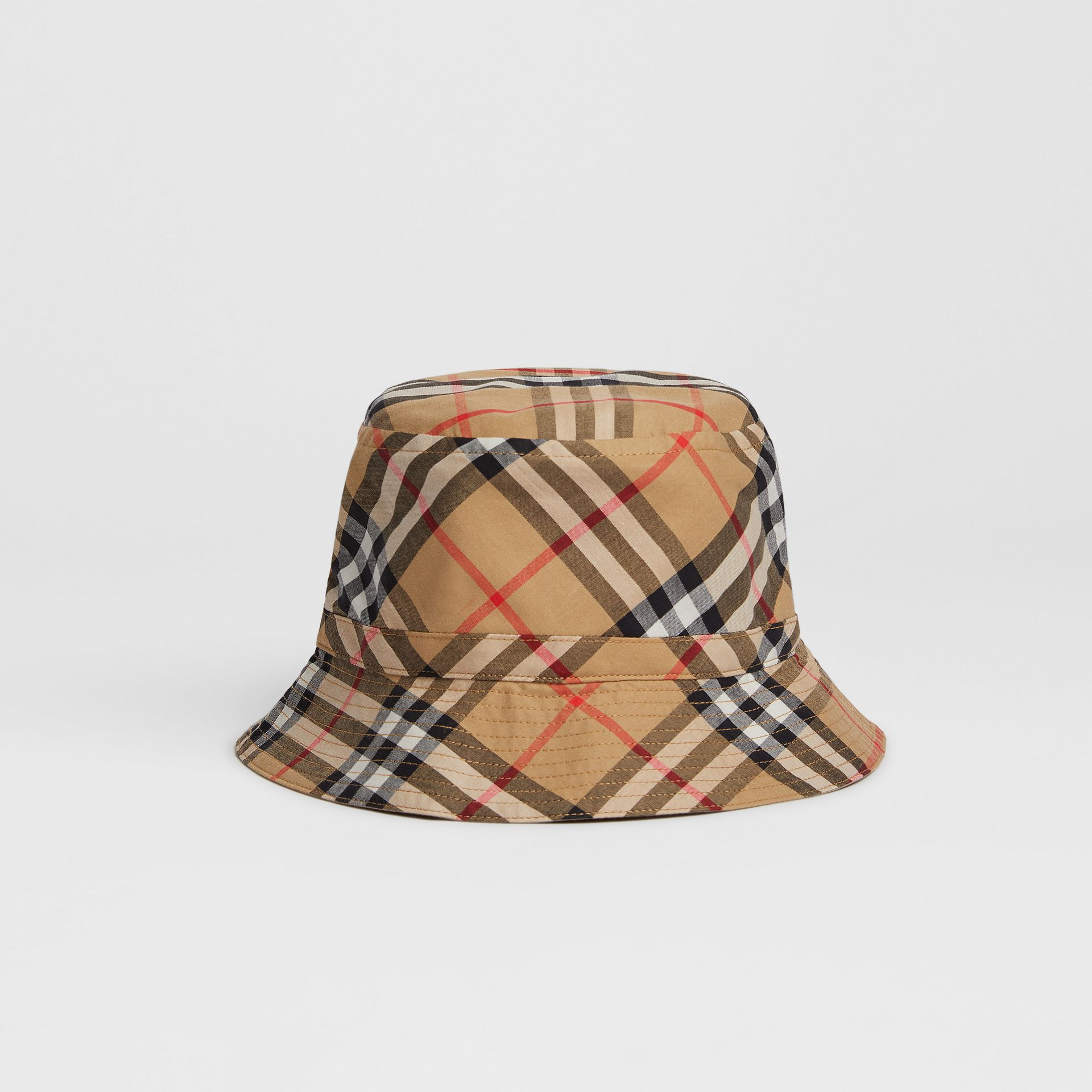f0c52c33dc6 Vintage Check Bucket Hat in Antique Yellow - Children