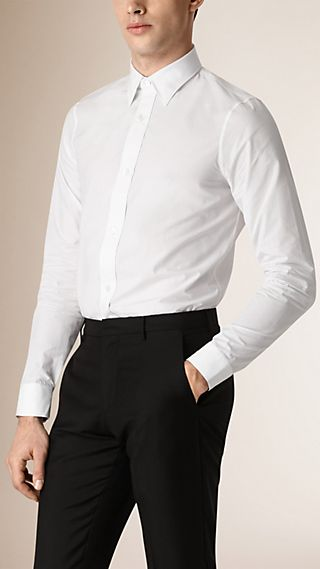 Slim Fit Classic Cotton Shirt