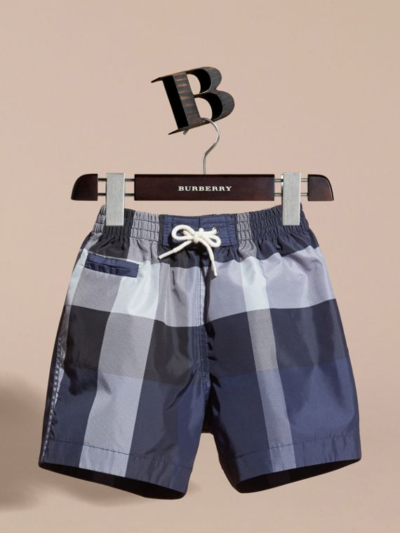 Check Technical Swim Shorts | Burberry - cell image 2