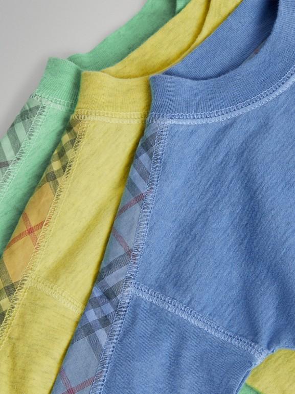 Gift set para bebê de três peças de algodão com detalhe xadrez (Multicolorido) - Crianças | Burberry - cell image 1