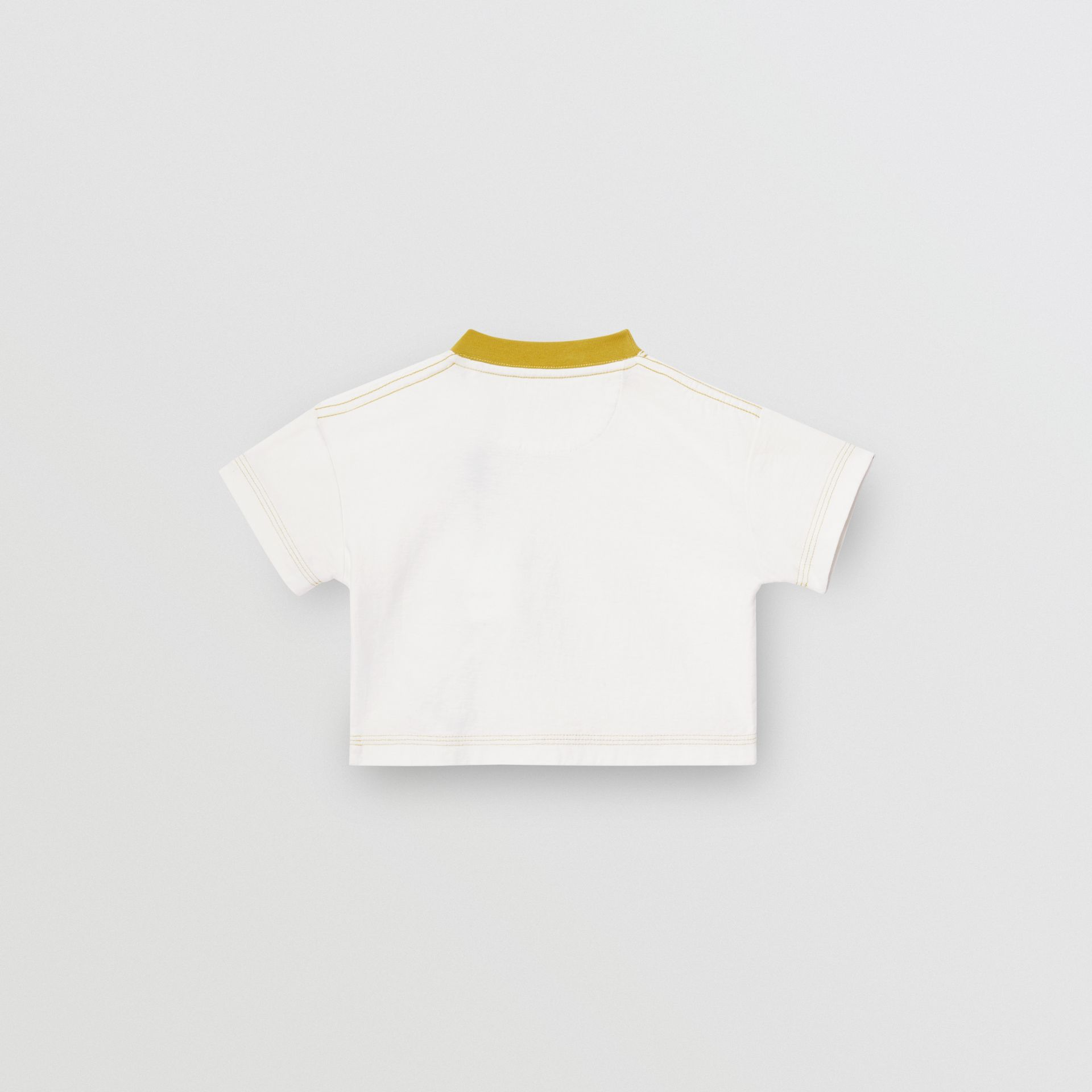 Comic Strip Print Cotton T-Shirt in Light Stone - Children | Burberry United Kingdom - gallery image 3
