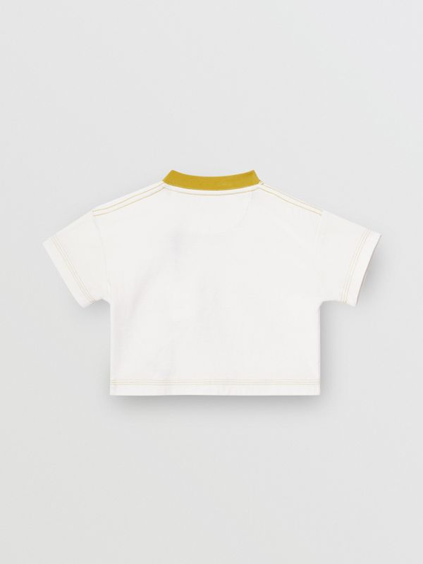 Comic Strip Print Cotton T-Shirt in Light Stone - Children | Burberry Singapore - cell image 3