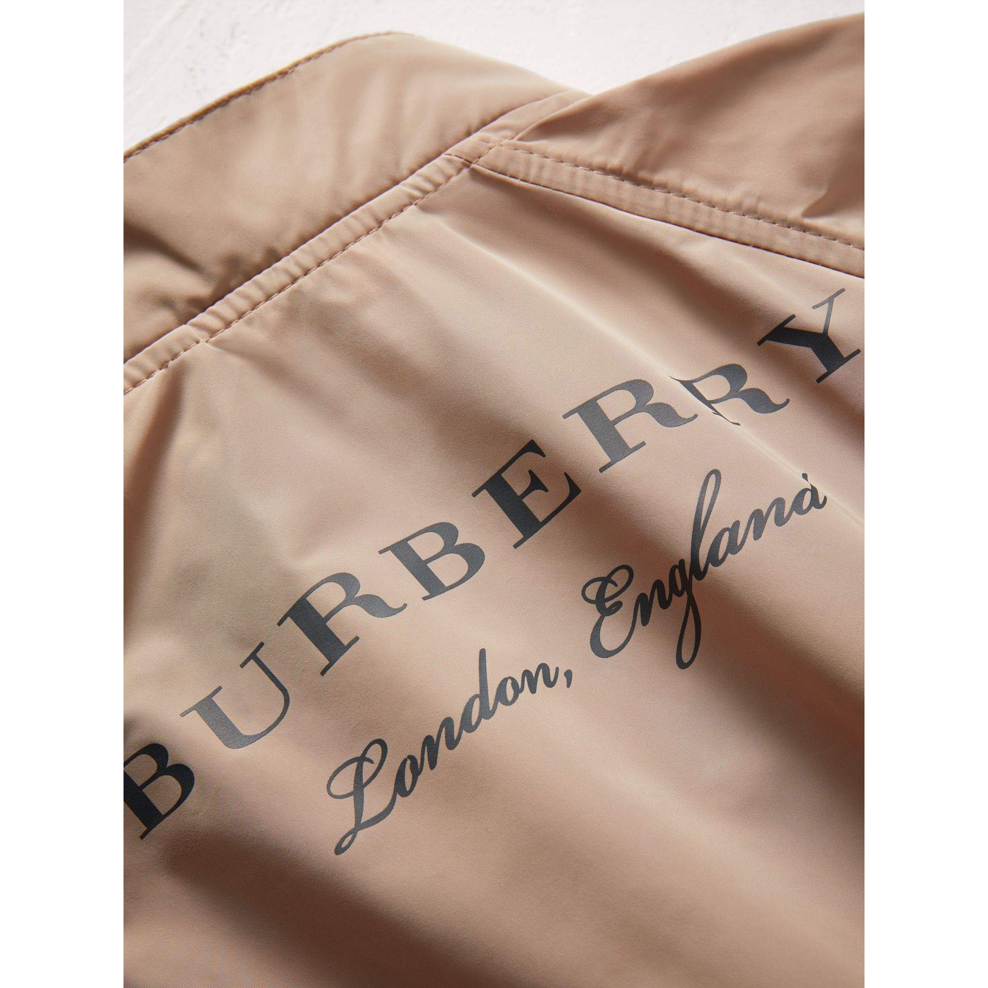 Lightweight Bomber Jacket in Stone - Boy | Burberry Singapore - gallery image 1