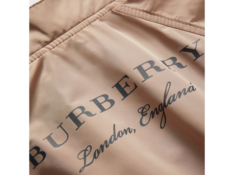 Lightweight Bomber Jacket in Stone - Boy | Burberry Singapore - cell image 1
