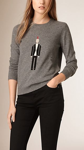 The Punk Graphic Wool Cashmere Sweater