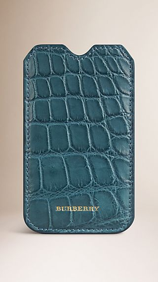 Alligator Leather iPhone 5  Case