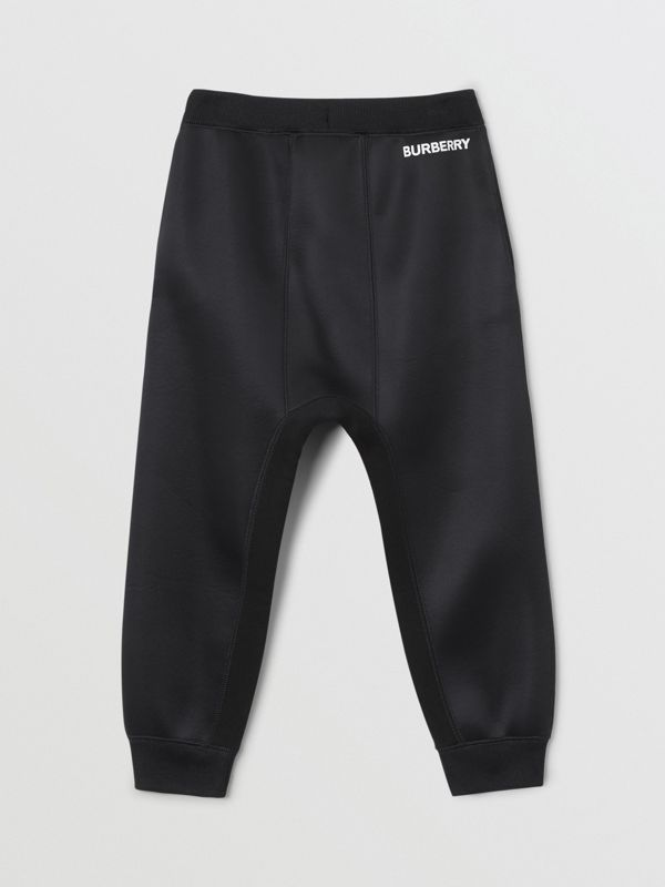 Sparkler Print Recycled Polyester Trackpants in Black - Boy | Burberry - cell image 3