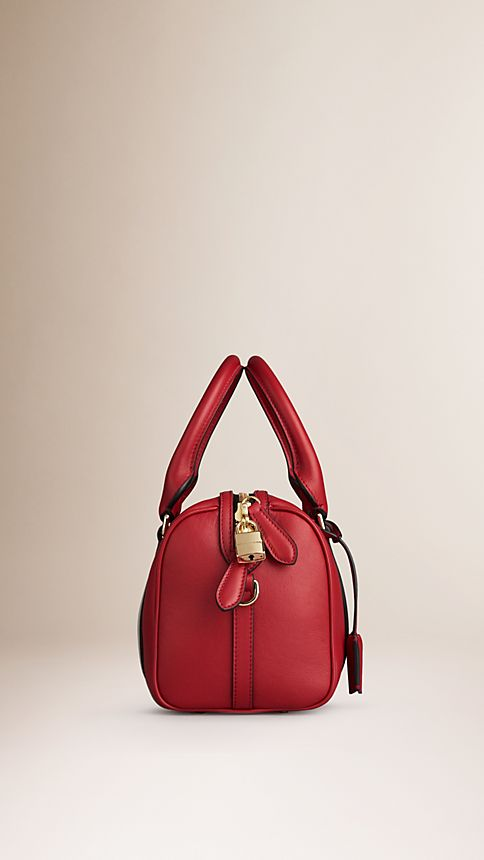 Parade red The Small Alchester in Leather - Image 4