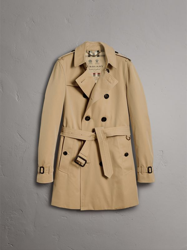 The Chelsea – Trench coat médio (Mel) - Homens | Burberry - cell image 3